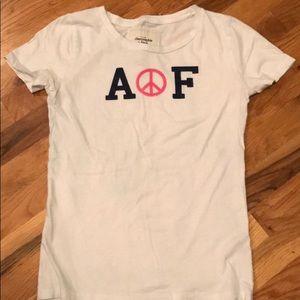 Abercrombie short sleeve shirt